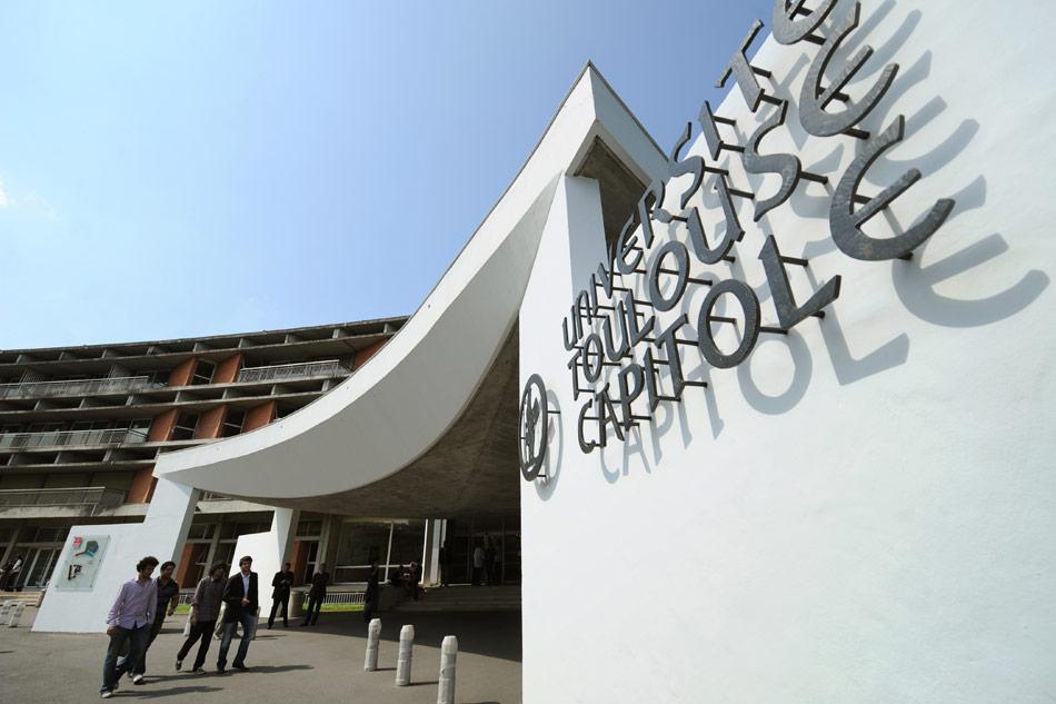 Entrée de l'université Toulouse Capitole