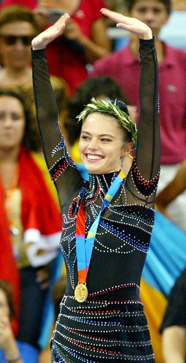 Alina Kabaeva médaille-