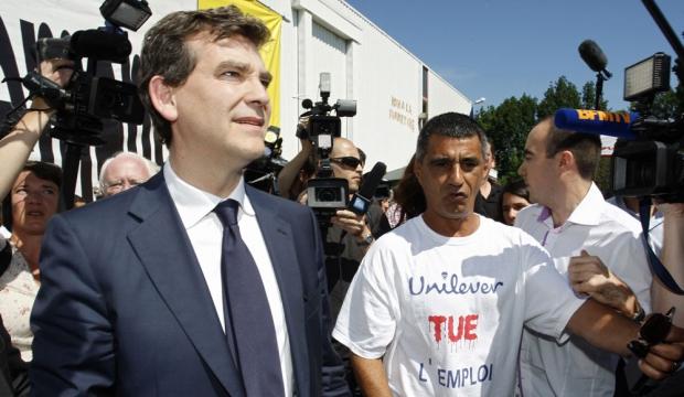 Arnaud Montebourg Fralib-