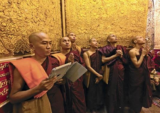 Birmanie Temple