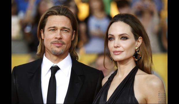Brad Pitt et Angelina Jolie-