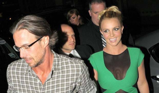 Britney Spears et Jason Trawick -