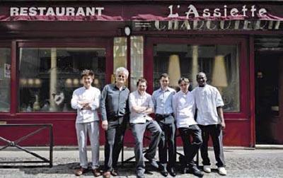 Paris sur zinc nos chers bistrots for Cuisinier raymond oliver
