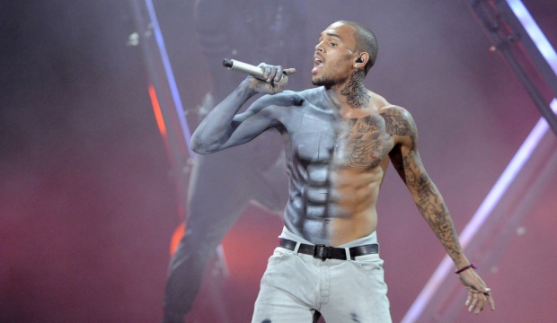Chris Brown fait le show -