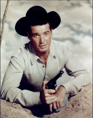 "James Garner dans ""Maverick"""
