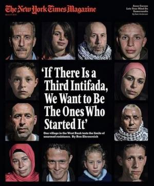 New York Times Magazine Bassem tamimi