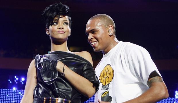 Rihanna et Chris Brown-