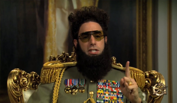 Sacha Baron Cohen «The Dictator»-