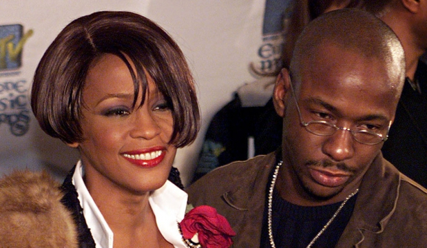 Whitney Houston et Bobby Brown-