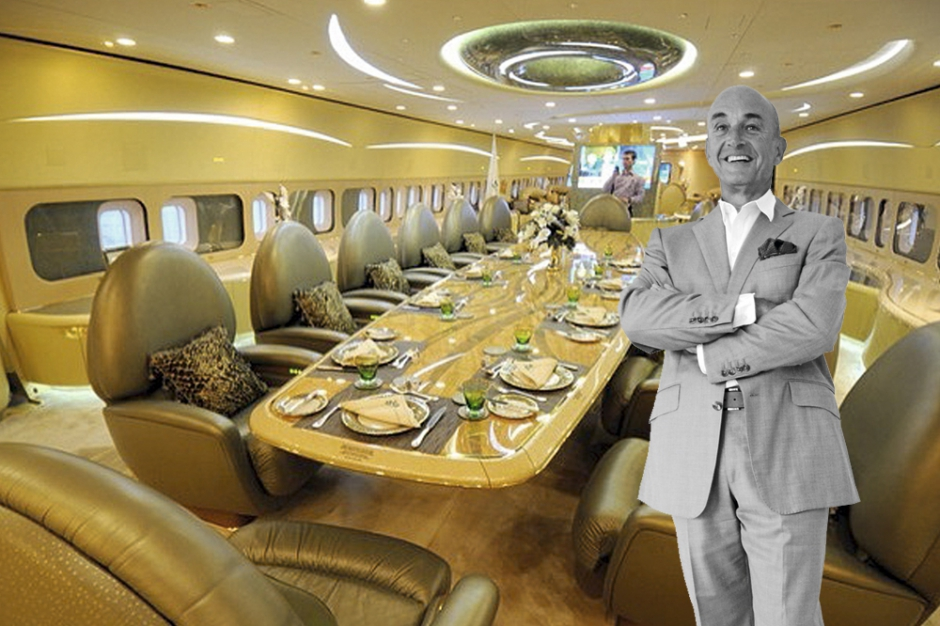 Jacques pierrejean il transforme les avions en palaces for Avion 747 interieur