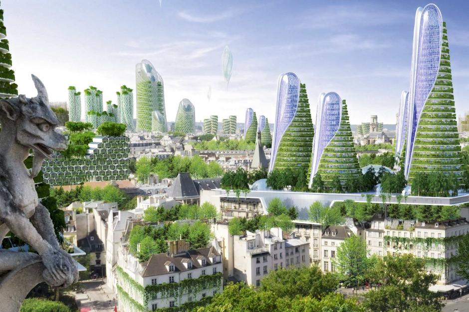 Vincent callebaut architecte vert les cit s du futur for Architecture du futur