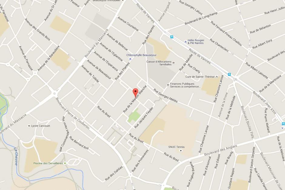 Nantes une femme d c d e il y a plus d 39 un an retrouv e for 11 rue de la maison blanche nantes