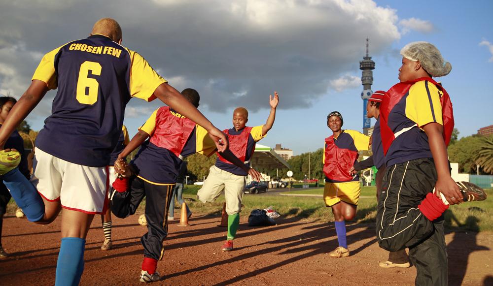 Afrique du sud les footballeuses de l 39 arc en ciel - Office du tourisme afrique du sud paris ...