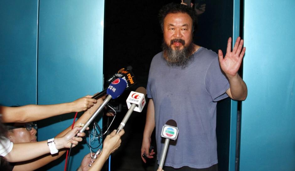 Ai Weiwei privé de tribunal