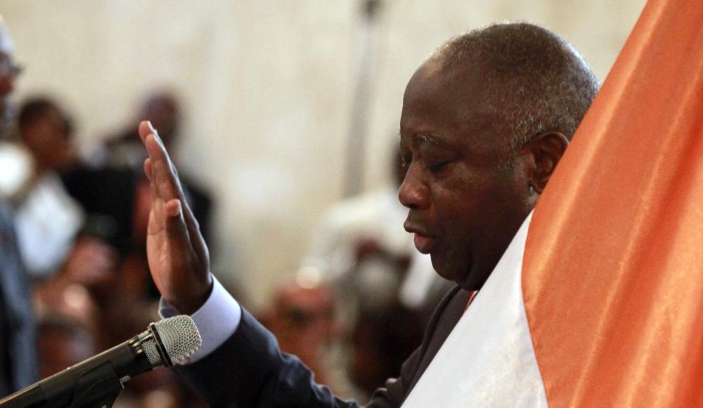 gbagbo pr te serment malgr la contestation. Black Bedroom Furniture Sets. Home Design Ideas