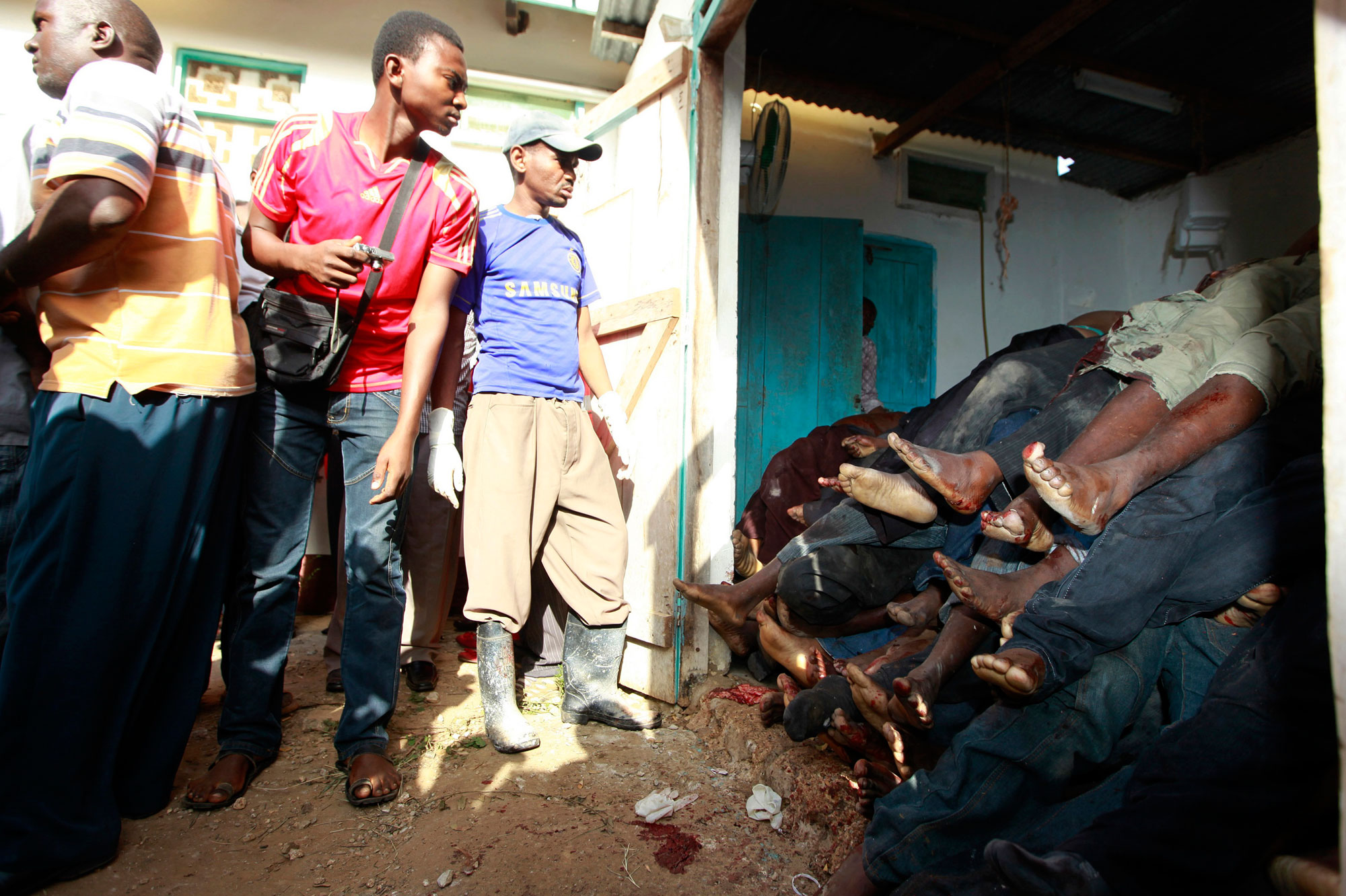 Attaque Terroriste Meurtrière Au Kenya