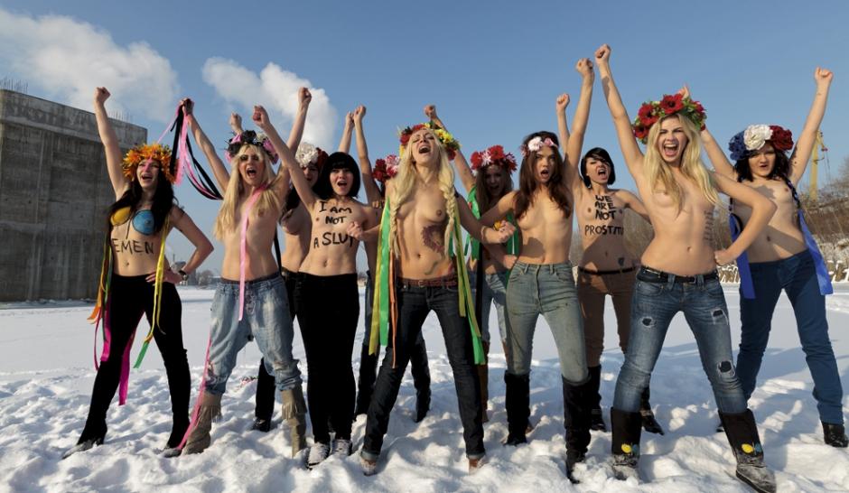 Femen Les féministes venues du froid