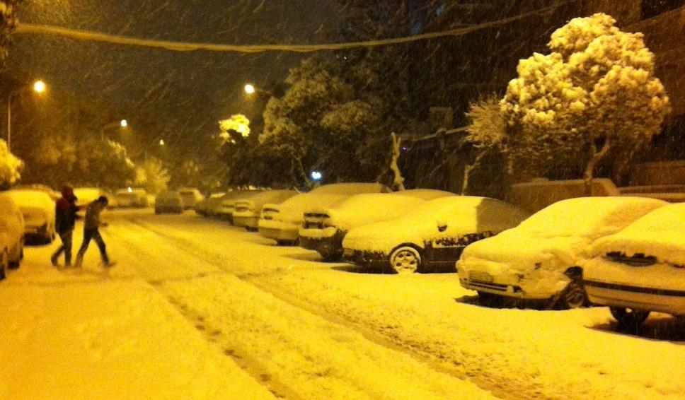 Good morning damascus une nuit de reve de lumiere et de neige