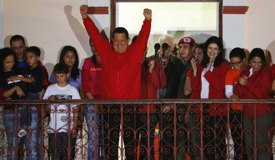 Hugo Chávez l'invincible