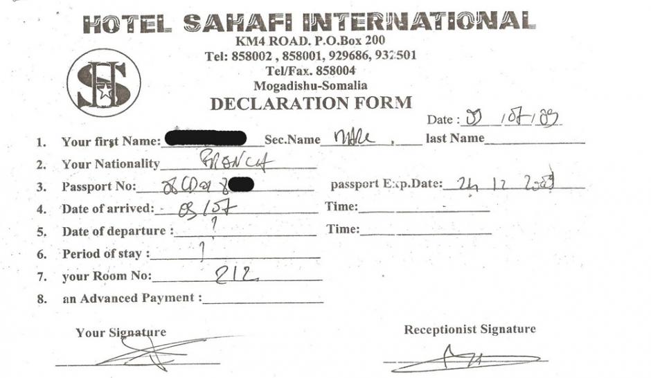 Imbroglio mogadiscio des otages bien encombrants - Numero encombrant paris ...