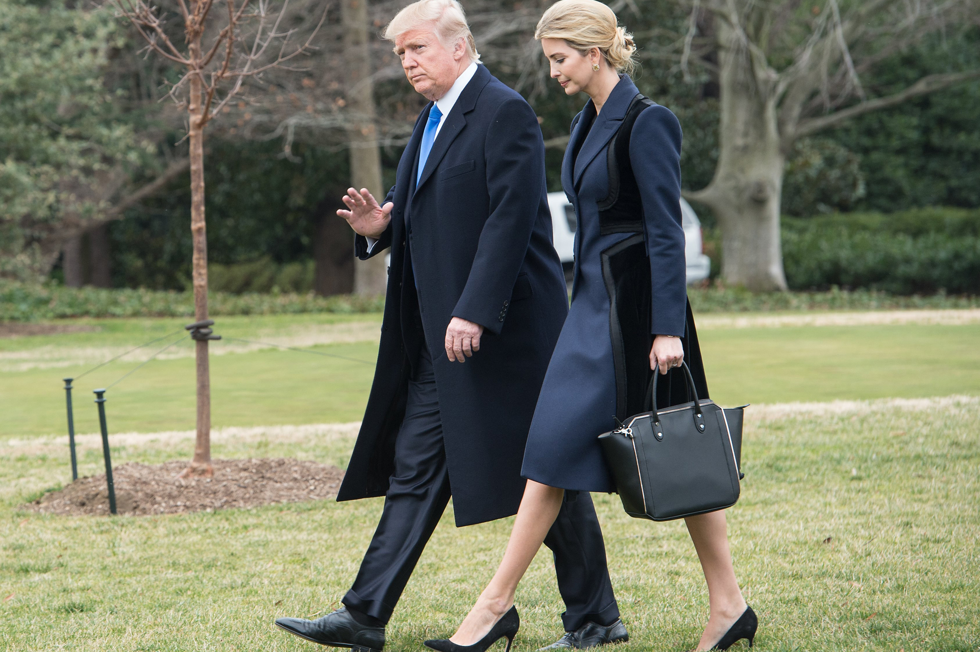 Donald trump ivanka trump maison blanche jpg trump