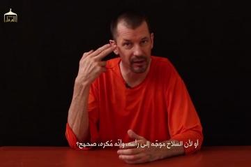 il annonce vouloir dire la verite john cantlie otage et outil de propagande de l ei