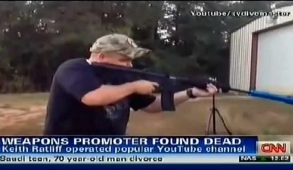 Keith Ratliff, symbole de la folie des armes aux US