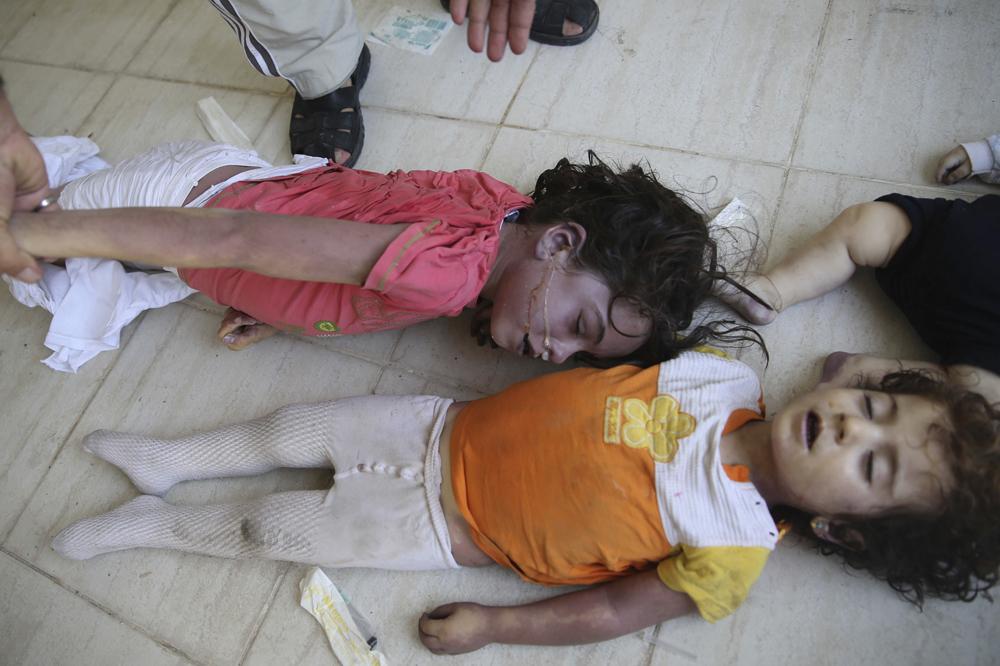 Syrie l 39 horreur de l 39 arme chimique for Cheville chimique mode d emploi