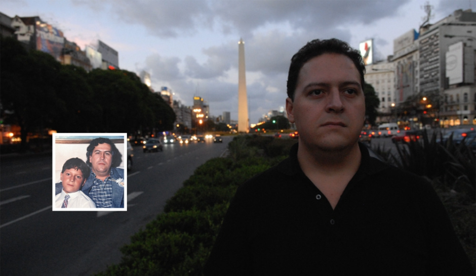 """Le fils de Pablo Escobar : """"Pardon pour mon père"""""""