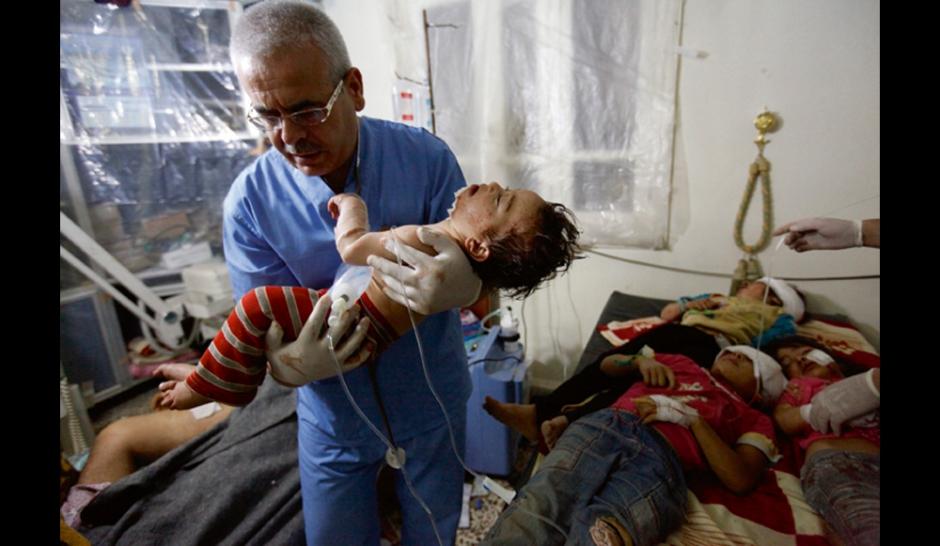 Les enfants broyés de Syrie