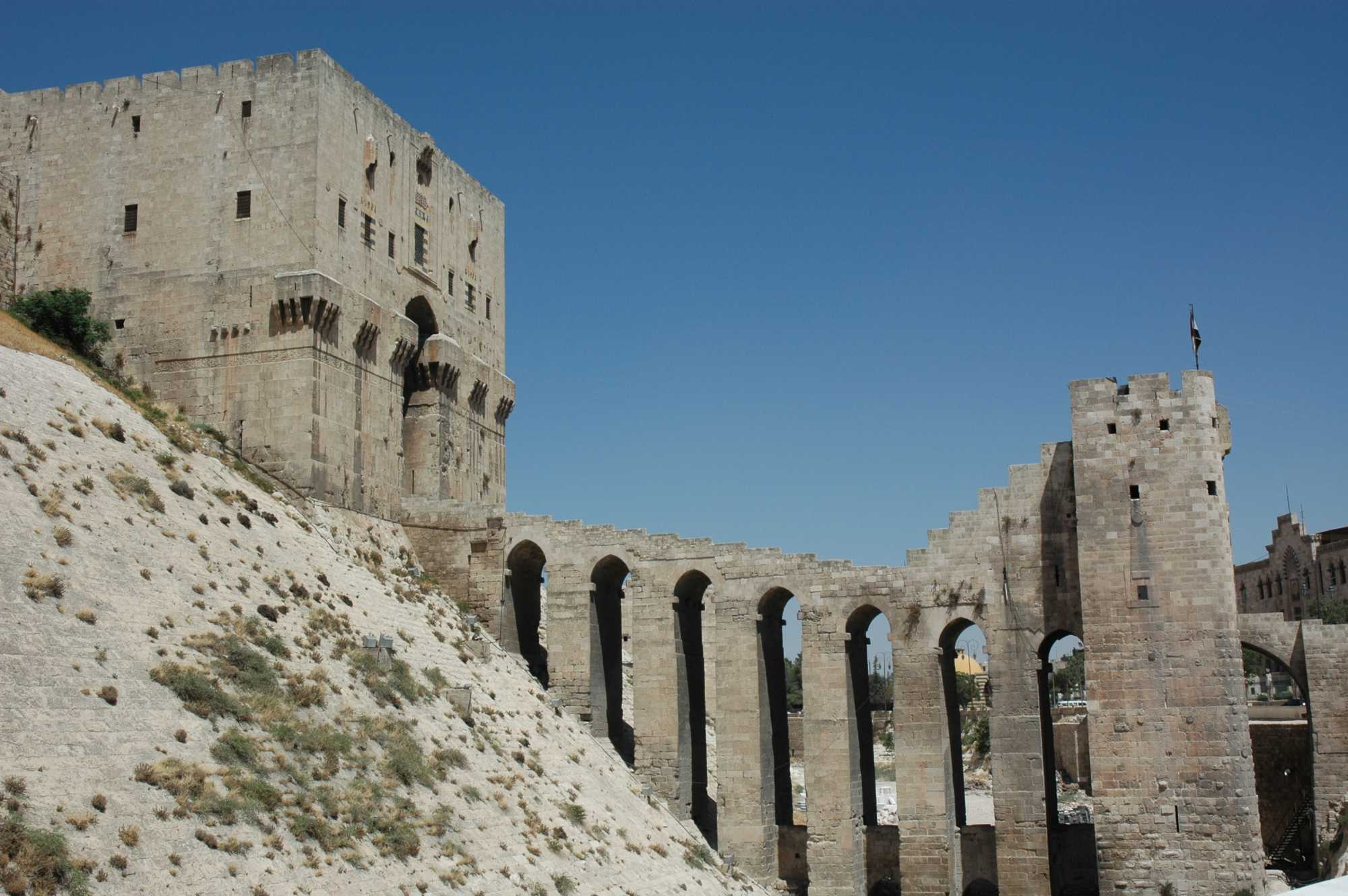 ruine turquie citadelle