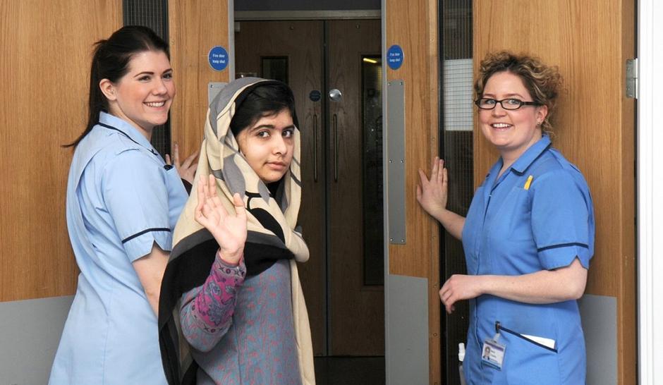 Malala est sortie de l'hôpital
