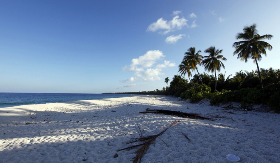 Maldives. Sous le sable, les pavés