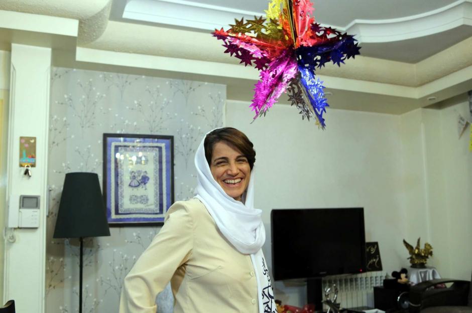 Nasrin Sotoudeh, le sourire de la liberté