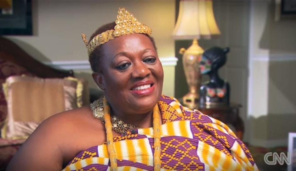 Peggy: secrétaire aux USA, reine au Ghana