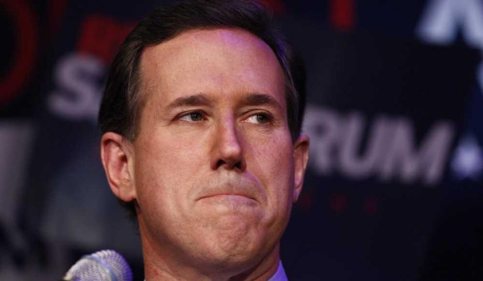 Rick Santorum, le mal-aimé des femmes
