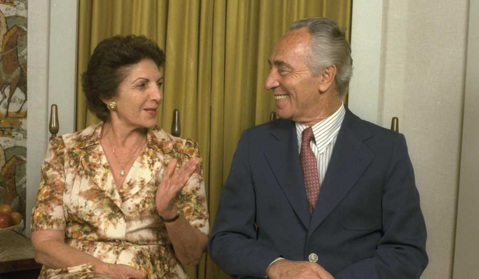 Shimon Peres a perdu «l'amour de sa vie»
