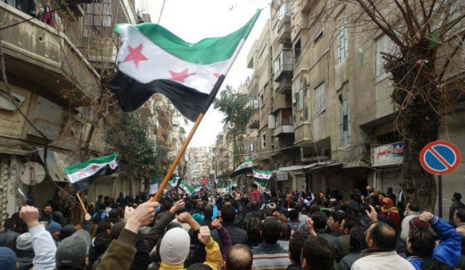 Les rues de bab saaba près de homs le 30 décembre dernier reuters