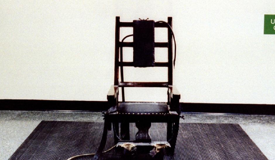 un am ricain choisit de mourir sur la chaise lectrique. Black Bedroom Furniture Sets. Home Design Ideas