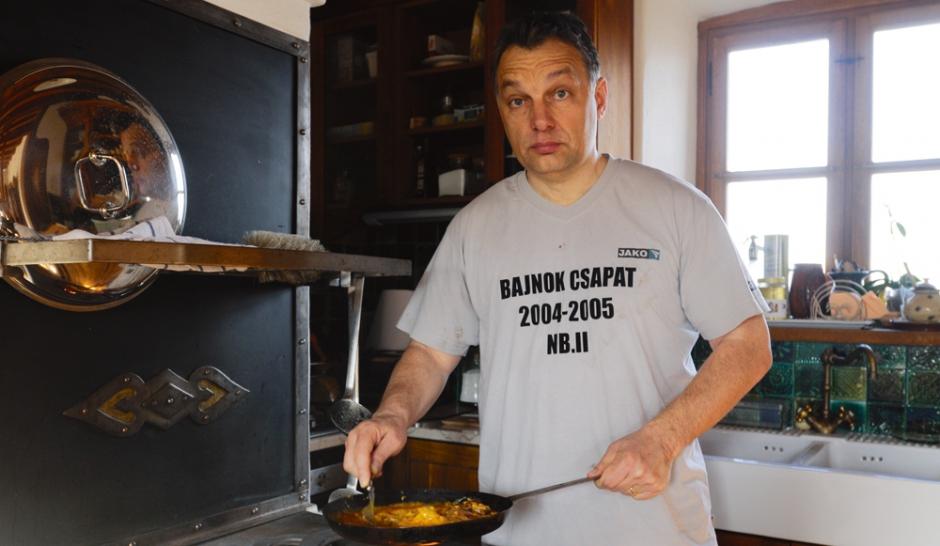 Viktor Orban l'homme qui fait peur a l'Europe