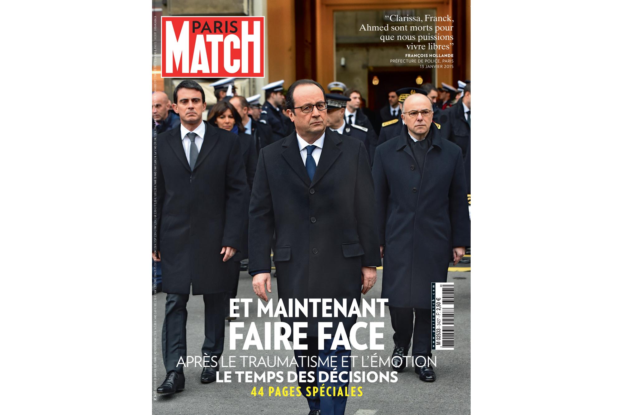 François Hollande fait face - Paris Match