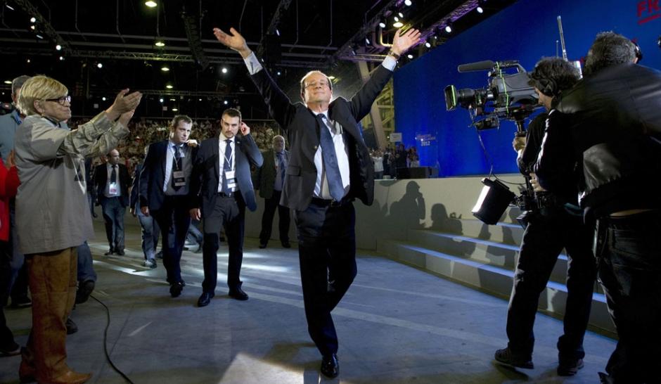 François Hollande prend son envol