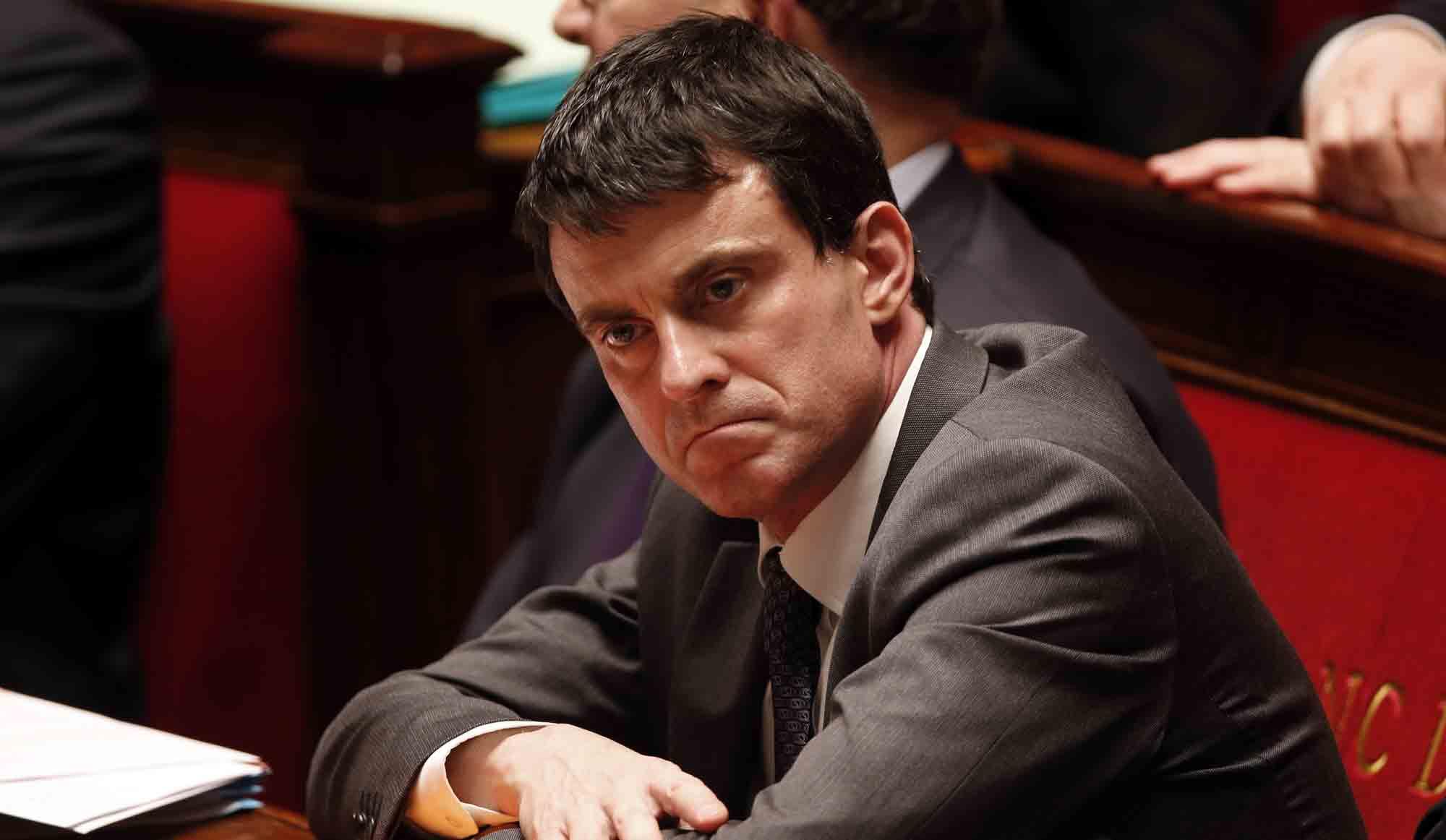 Valls d'énervement à l'Assemblée Nationale. La psycho a son Manuel...