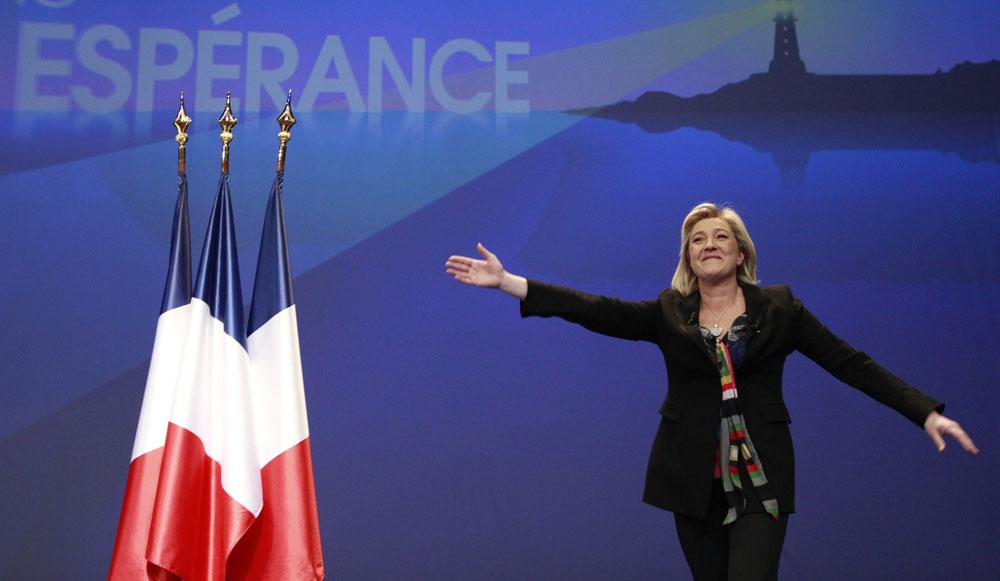 Départementales : Près de 30% des Français souhaitent le succès du FN dans france Marine-Le-Pen-Je-suis-candidate