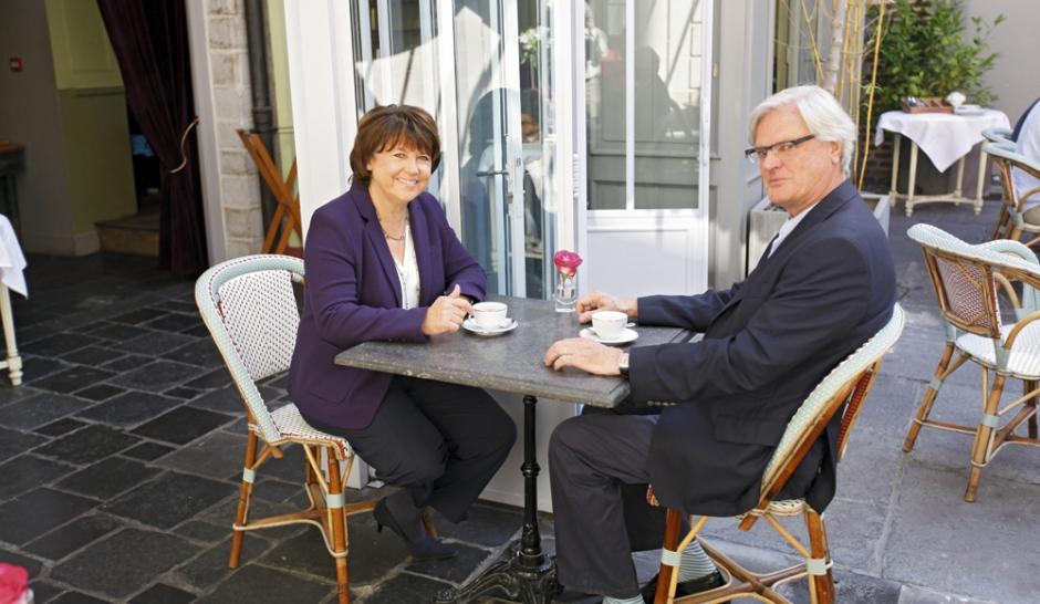 """Martine Aubry: """"Moi Premier ministre ? Pourquoi pas"""""""