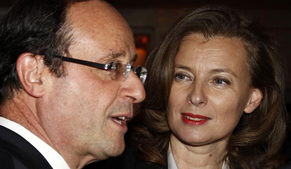 François Hollande... Et Valérie entre dans la lumière