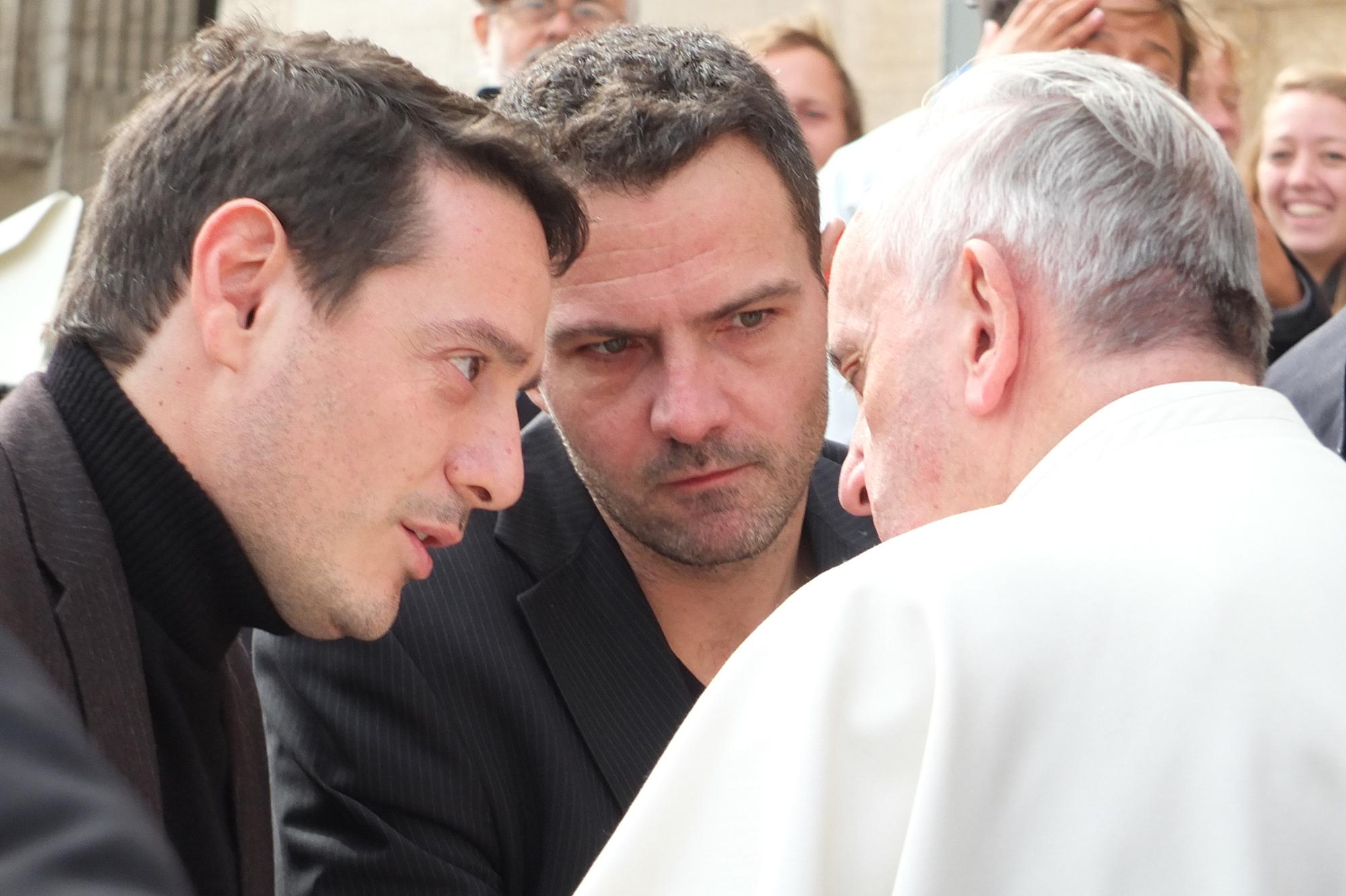 Video rencontre des 2 papes