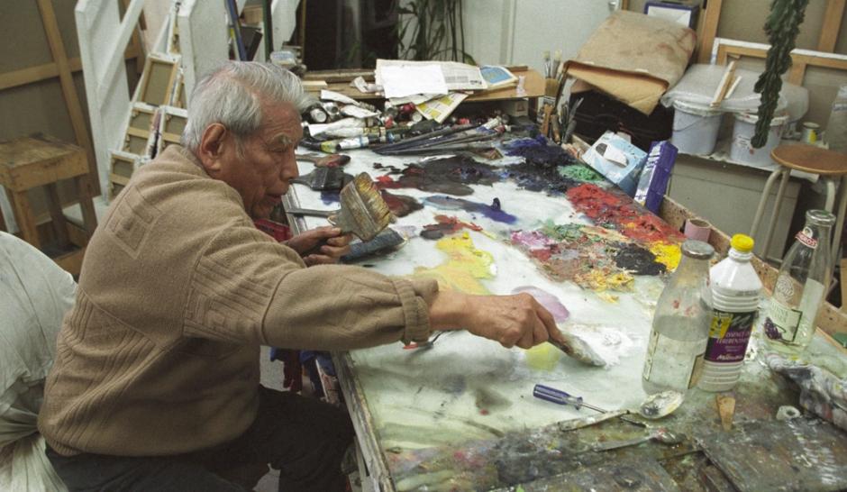 Un peintre chinois s me le trouble s vres et au mus e guimet for Artiste peintre chinois
