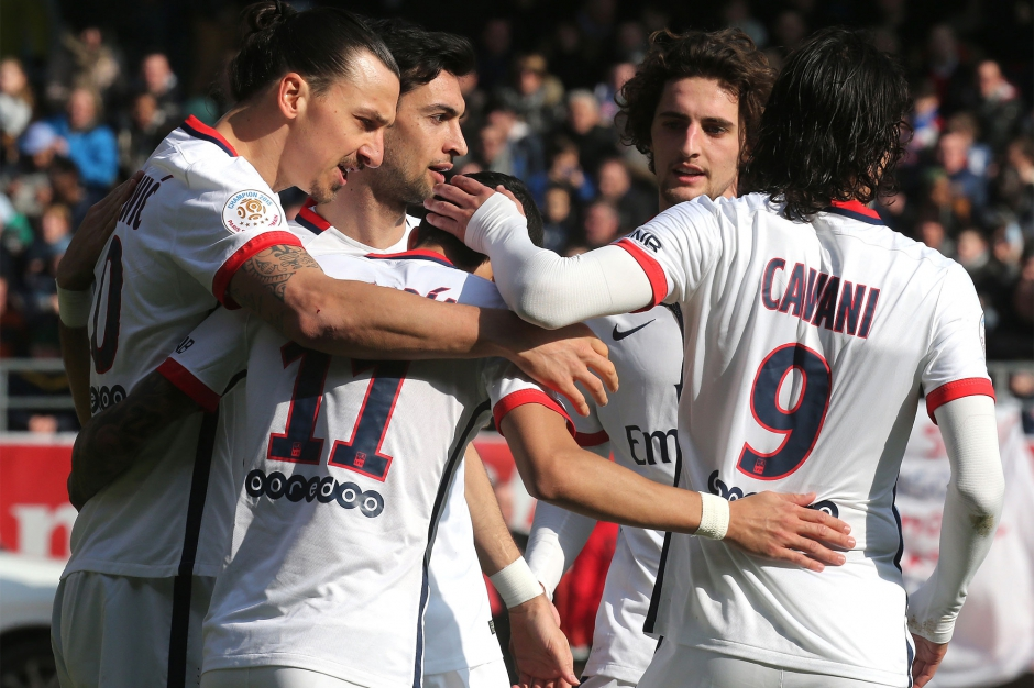 Le PSG irrésistible champion de France