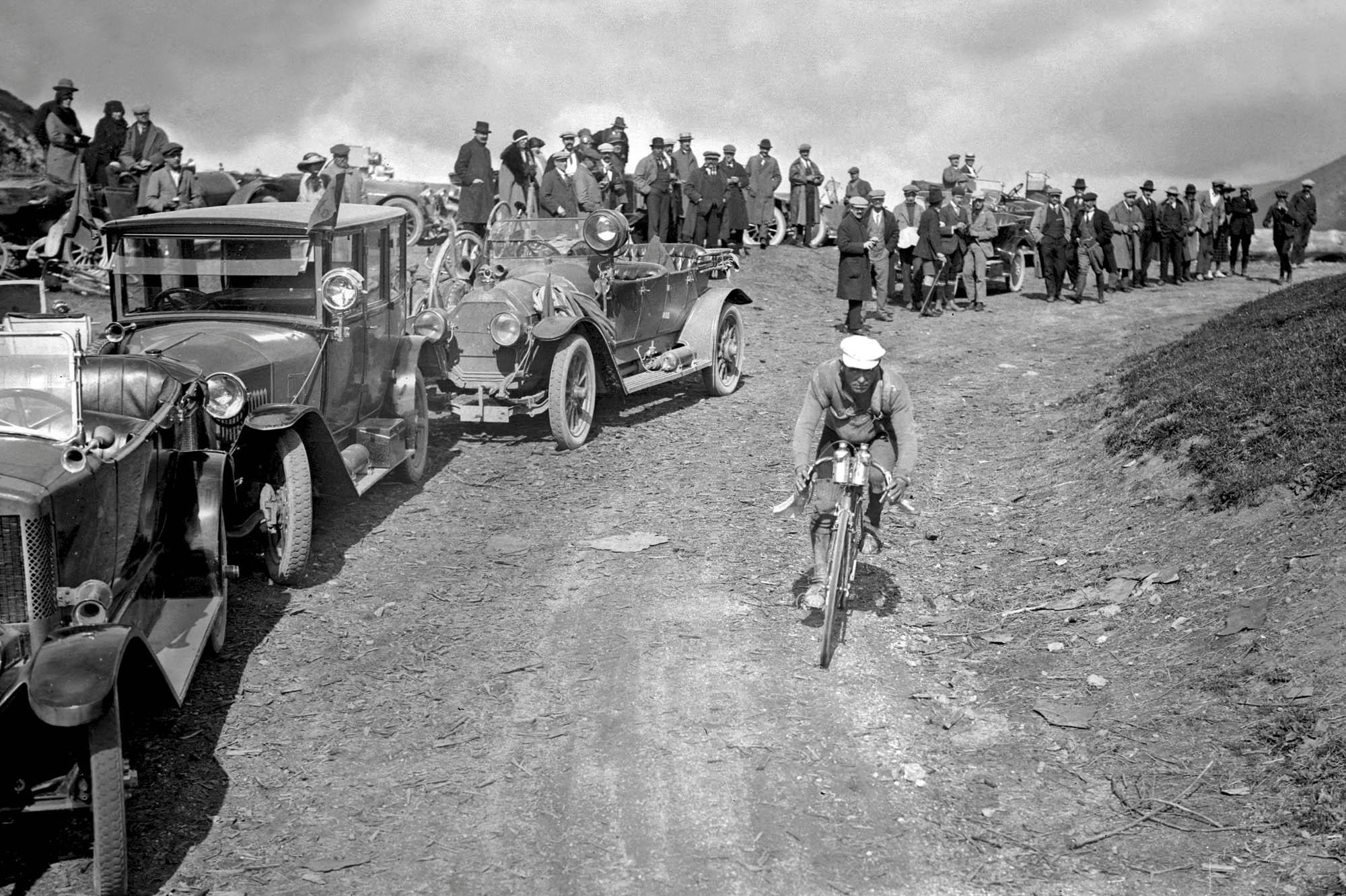 1922 Tour de France, Col du Po...